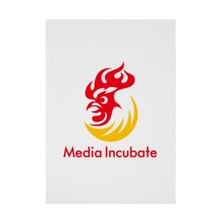 メディアインキュベートストア Stickable tarpaulin