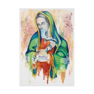 #420 - Stoned Mary復刻版 Stickable tarpaulin