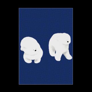 Iwabuchi Mamiの不思議なワンちゃん Stickable tarpaulin