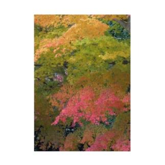 美しき日本の紅葉 Stickable tarpaulin