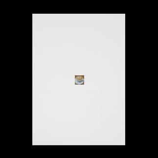インコさん( •ө• )アカショウビンと梟の飼い主のフクロウのオソマ🦉 Stickable tarpaulin