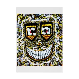 狂気のsmilemonster♥ Stickable poster