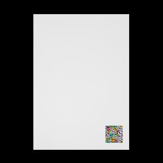 IZANAGIのシンプルドクロ~ Stickable tarpaulin