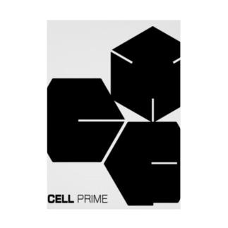 CELLPRIME3 Stickable tarpaulin