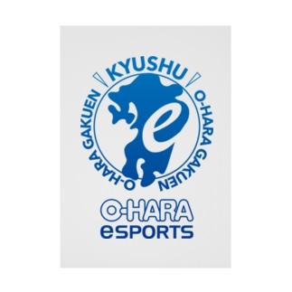 eスポーツ大原九州 Stickable poster