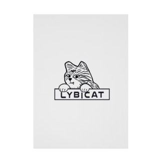 LYBICATエンブレム ポケット Stickable poster