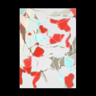 水草の金魚2 Stickable tarpaulin