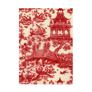 J. Jeffery Print Galleryのトワルドジュイ Toile de Jouy Stickable tarpaulin