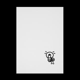Venizakuraのひらめいたくん Stickable tarpaulin