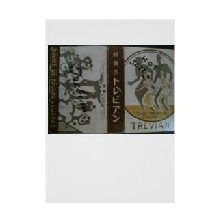 レトロTOKIO 純喫茶トレビアン Stickable poster