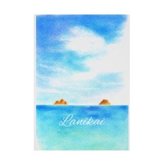 ラニカイビーチ Stickable tarpaulin