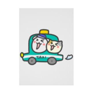 タクシー関連グッズ販売 Stickable poster