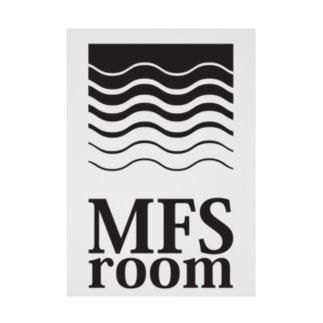 MFS room trim5(黒) Stickable tarpaulin