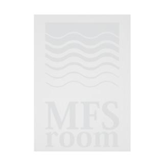 MFS room trim6(淡い灰色) Stickable tarpaulin