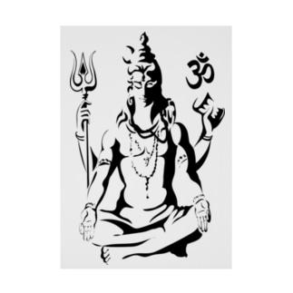 Shiva Stickable tarpaulin