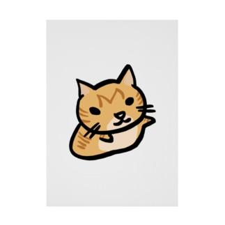天満カレー猫 Stickable poster