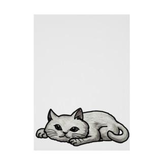 cat Stickable tarpaulin