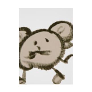 ネズミ。 Stickable poster