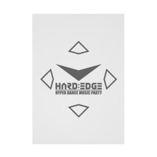 HARD:EDGE 2020 Stickable tarpaulin