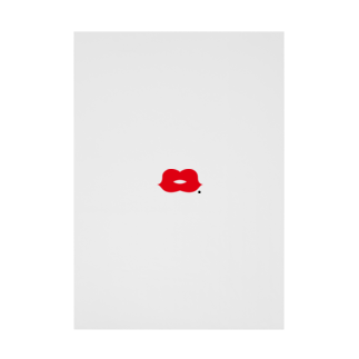 fac_keのsexy lips Stickable tarpaulin