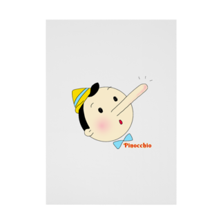 Sorapolice_pinopoliceのピノキオ Stickable tarpaulin