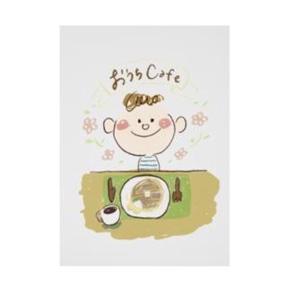 おうちcafe Stickable poster