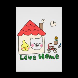 Rainbow StudioのLove Home Stickable tarpaulin