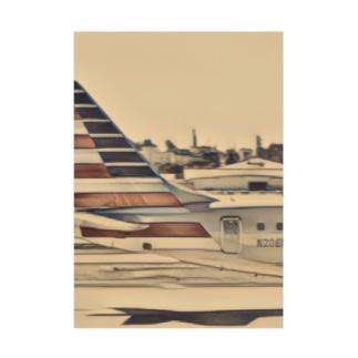 MASSAMAN&Co.のAmerica Stickable poster