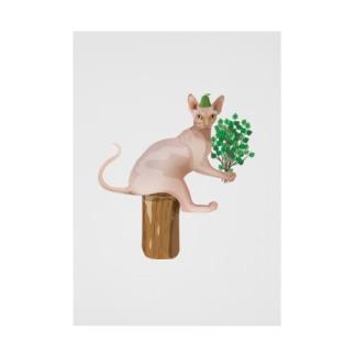 スフィンクスのサウナ体験 Stickable poster