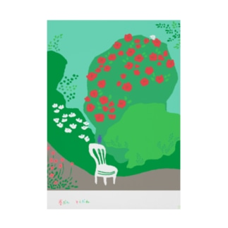 mya-mya=MIYA JUNKO's shop 02の春がきたね Stickable poster