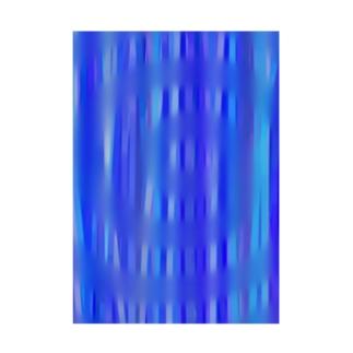 雨の波紋 Stickable poster