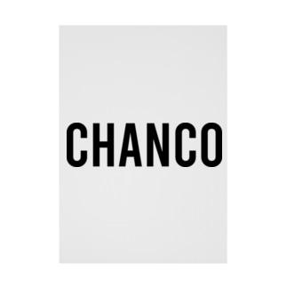 CHANCO Stickable Poster