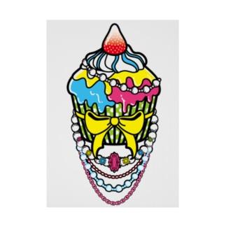 特別な日のカップケーキ Stickable tarpaulin