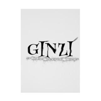 GINZI Stickable poster