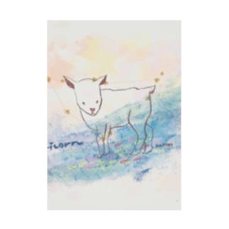 maichogoriの山羊座 Stickable tarpaulin