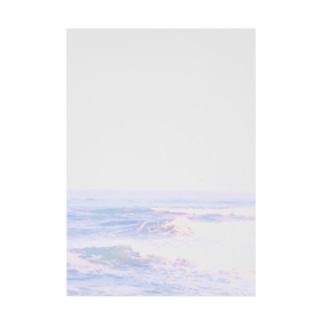 夏雪のunicorn sea Stickable tarpaulin