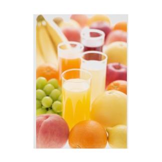 フルーツジュース Stickable poster