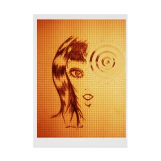 K4knockknockClassic Stickable poster