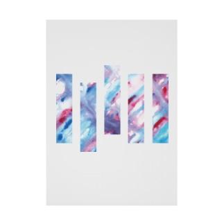 Bluebird -Rhythm- Stickable poster