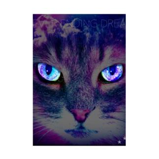 宇宙猫 吸着ターポリン