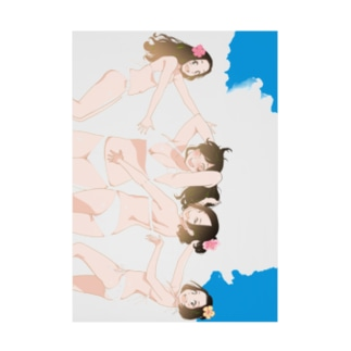 オトメ水着の楽園/ディベート部 Stickable poster