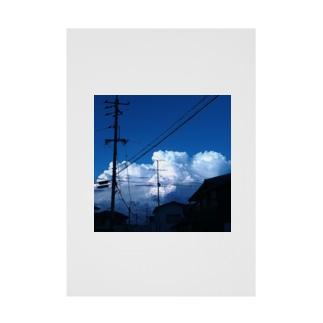 モクモ雲 Stickable Poster