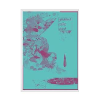 fika(ん) (ポップ) Stickable poster