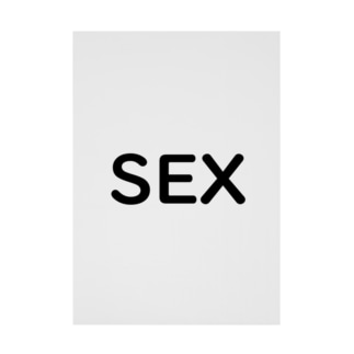 SEX エス イー エックス Stickable poster