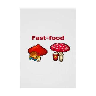 Fast-food Stickable tarpaulin