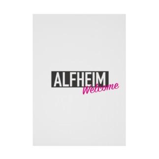 アルフヘイム 北欧神話 Stickable tarpaulin