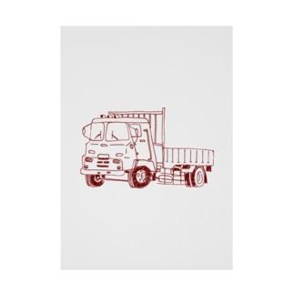 トラック Stickable poster