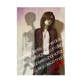 takaya Skull Shadow Stickable poster