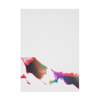 覗くニコ バージョン4 Stickable tarpaulin