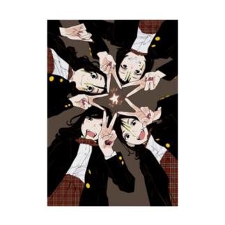 オトメの帝国ハロウィンスペシャル/ディベート部 Stickable poster